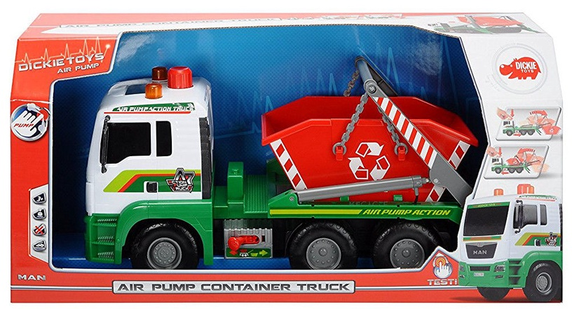 Dickie Toys Air Pump Container Truck 203336104