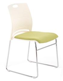 Lankytojų kėdė Halmar Cali White/Green