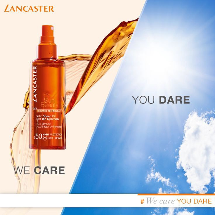 Lancaster Sun Beauty Dry Oil Fast Tan Optimizer SPF50 150ml