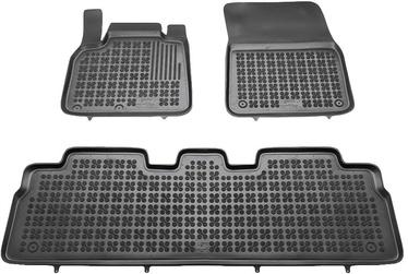 Резиновый автомобильный коврик REZAW-PLAST Renault Espace IV 2002-2014, 3 шт.