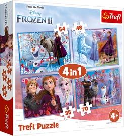 Pusle Trefl 4-in-1 Disney Frozen II 34323, 35/48/54/70 tk