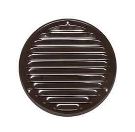 Metāla ventilācijas reste Europlast MR125, brūna