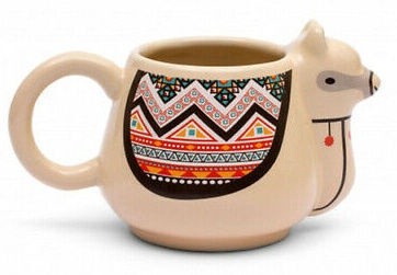 Thumbs Up Pusheen LLama Mug