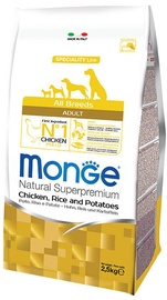 Monge Speciality Line Adult with Chicken Rice and Potatoes 2.5kg