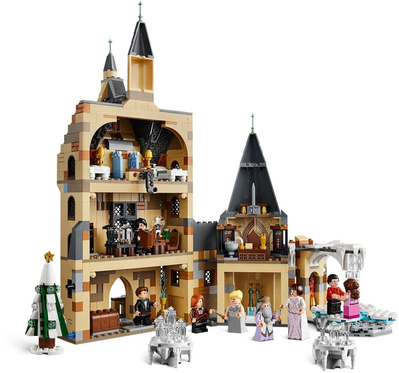 Конструктор LEGO Harry Potter Hogwarts Clock Tower 75948 75948, 922 шт.