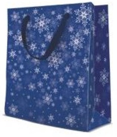 Paw Decor Collection Gift Bag Stars Everywhere Navy Blue
