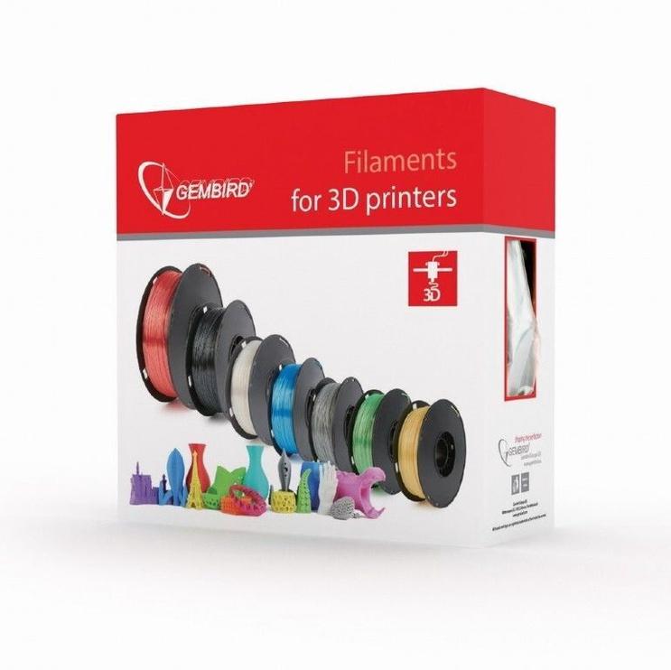Расходные материалы для 3D принтера Gembird 3DP-PLA1.75-01-P, 330 м, розовый