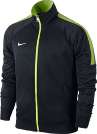 Žakete Nike Team Club Trainer Jacket 658683 011 Black Green S