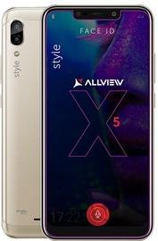 Mobilusis telefonas Allview Soul X5 Style Gold, 32 GB