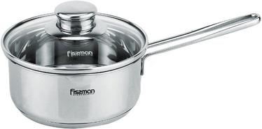 Fissman Bambino Stainless Steel Sausepan 14x6.5cm With Glass Lid 0.9L 5271