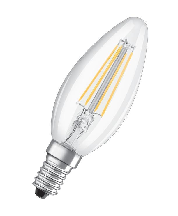 LAMP LED FILAM B35 5W E14 827 470LM DIM