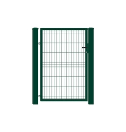 VĀRTI AR RĀMI 960X1200 MM RAL6005 W4465 (GARDEN CENTER)