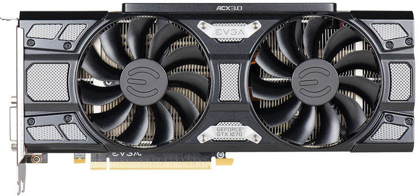 EVGA GeForce GTX 1070 SC GAMING 8GB GDDR5 PCIE ACX 3.0 Black Edition 08G-P4-5173-KR