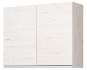 Bodzio Monia Upper Dryer Cabinet 90 Pearl Soma Oak