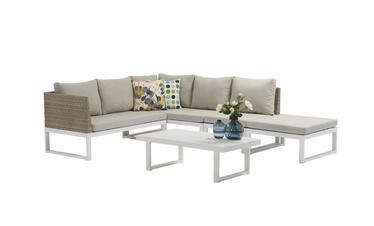 Комплект уличной мебели Masterjero J5011, кремовый, 1-7 места
