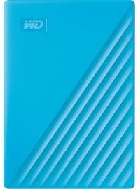 "Kõvaketas (mobiilne) Western Digital 4TB My Passport USB 3.2 2.5"" Blue"