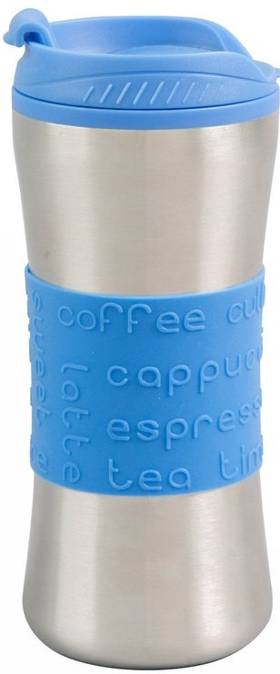 Curver Travel Mug Savana 450ml Silver/Blue