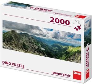 Puzle Dino Panoramic Rohace, 2000 gab.