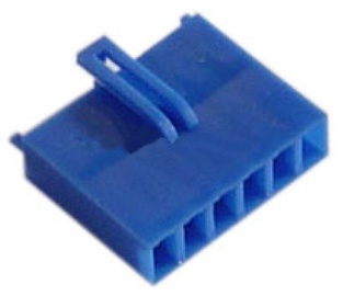 AC Ryan AUX 6Pin Female Connector Dark Blue
