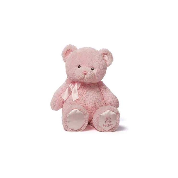 Pliušinis žaislas Hasbro My First Teddy 6048599, rožinis, 25 cm