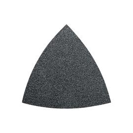 Trikampis šlifavimo lapelis Fein, P120, 80 mm, 50 vnt.