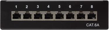 LogiLink Patch Panel Desktop Cat.6A STP Black