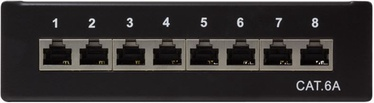 LogiLink Patch Panel Desktop Cat.6A STP Black