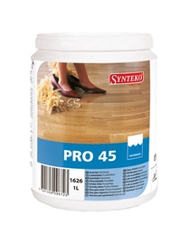 Põrandalakk Synteko PRO 45, poolläikiv 1L