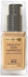 Max Factor Healthy Skin Harmony Miracle Foundation SPF20 30ml 60