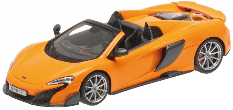Minichamps McLaren 675LT Spider Orange