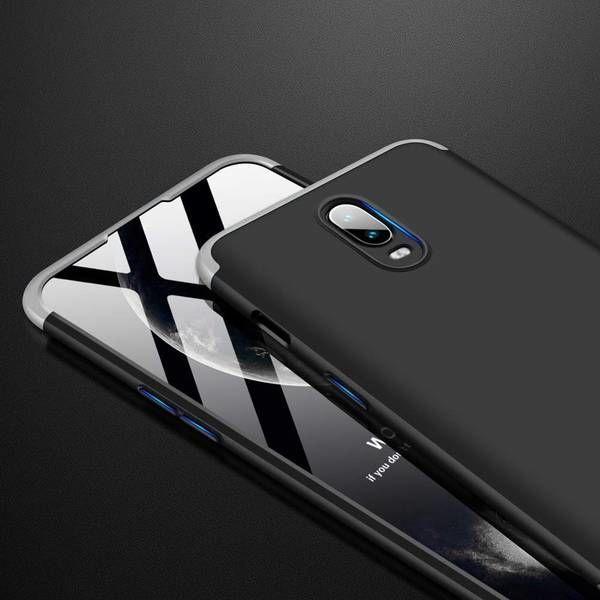 GKK 360 Protection Case For OnePlus 6T Black/Silver