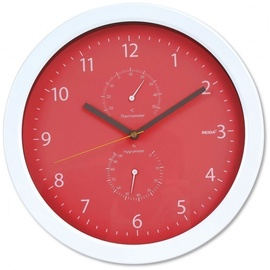 Platinet Summer Wall Clock 42574 Red