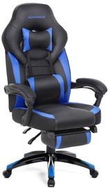 Spēļu krēsls Songmics, zila/melna