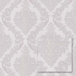 Tapetas flizelino pagrindu Sintra 540527 Valencia, rusvas, sidabrinis, klasikinis raštas