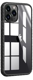 Чехол Devia Shark4 Woven Shockproof iPhone 12 Pro Max, черный