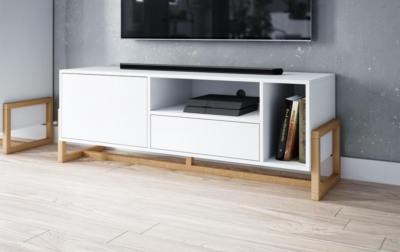 TV galds Vivaldi Meble, brūna, 1390x370x489 mm