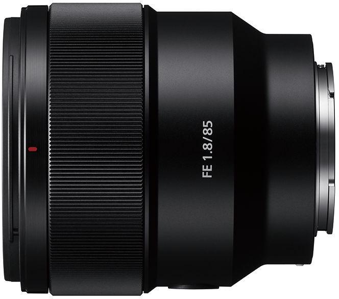 Objektiiv Sony FE 85mm F1.8, 371 g