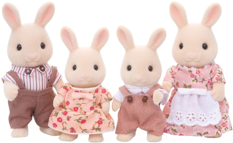 Epoch Sylvanian Families Milk Rabbit Family 3144