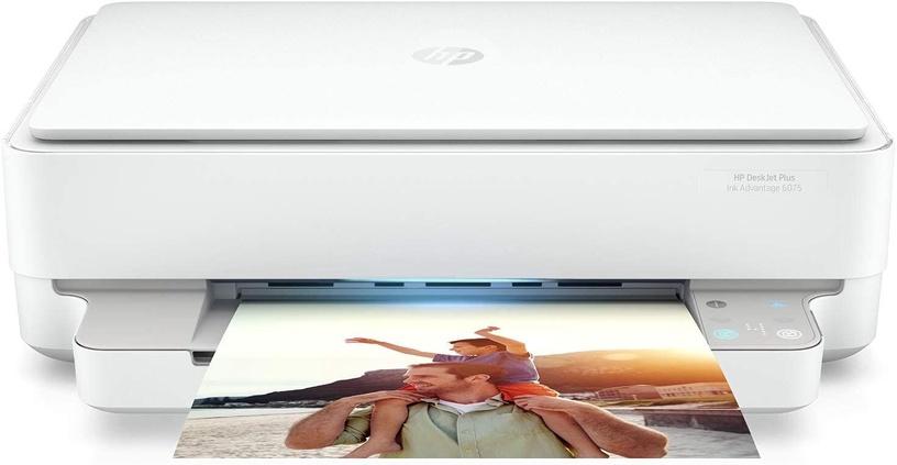 Многофункциональный принтер HP DeskJet Plus Ink Advantage 6075, струйный, цветной