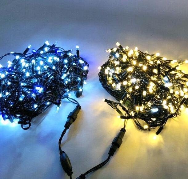 Elektriskā virtene Niveda Outdoor LED 480 White/Blue Flash, 24 m