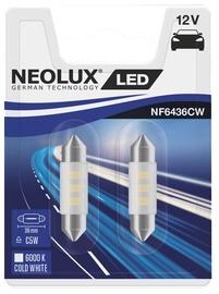 Neolux NF6436CW LED C5W 0.5W 12V 2pcs