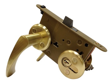 Vagner SDH Mortise Lock 2018/19 006 Brass