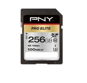 PNY PRO Elite 256GB SDXC UHS-I U3 Class 10