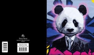 Jānis Roze Notebook A5 JR8 60 Pages Panda