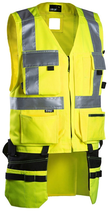 Dimex 6320 Tool Vest Yellow XL