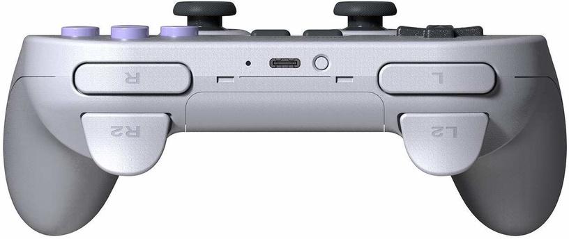 8BitDo SN30 Pro + Grey / Violet