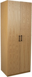 Home4you Block Wardrobe Oak