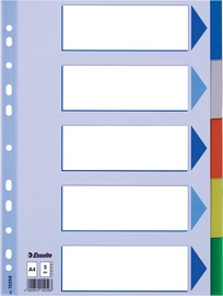 Esselte Document Divider Book 5 Tabs Colored