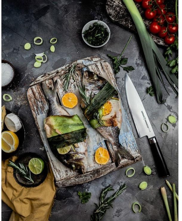 Kööginuga Samura Damascus Universal Kitchen Chefs Knife 20cm