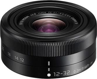 Panasonic Lumix G Vario 12-32mm f/3.5-5.6 ASPH. MEGA O.I.S. Black